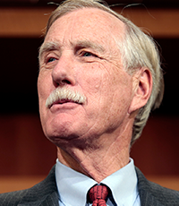 Angus King photo